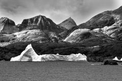 Iceberg and Mountains, Prince Kristian Sound