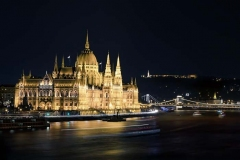 Parliament, Danube, Chain Bridge, Budapest, Hungary