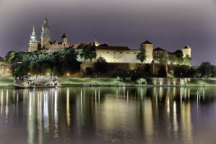 Wawel Castle Reflected in Vistula River
