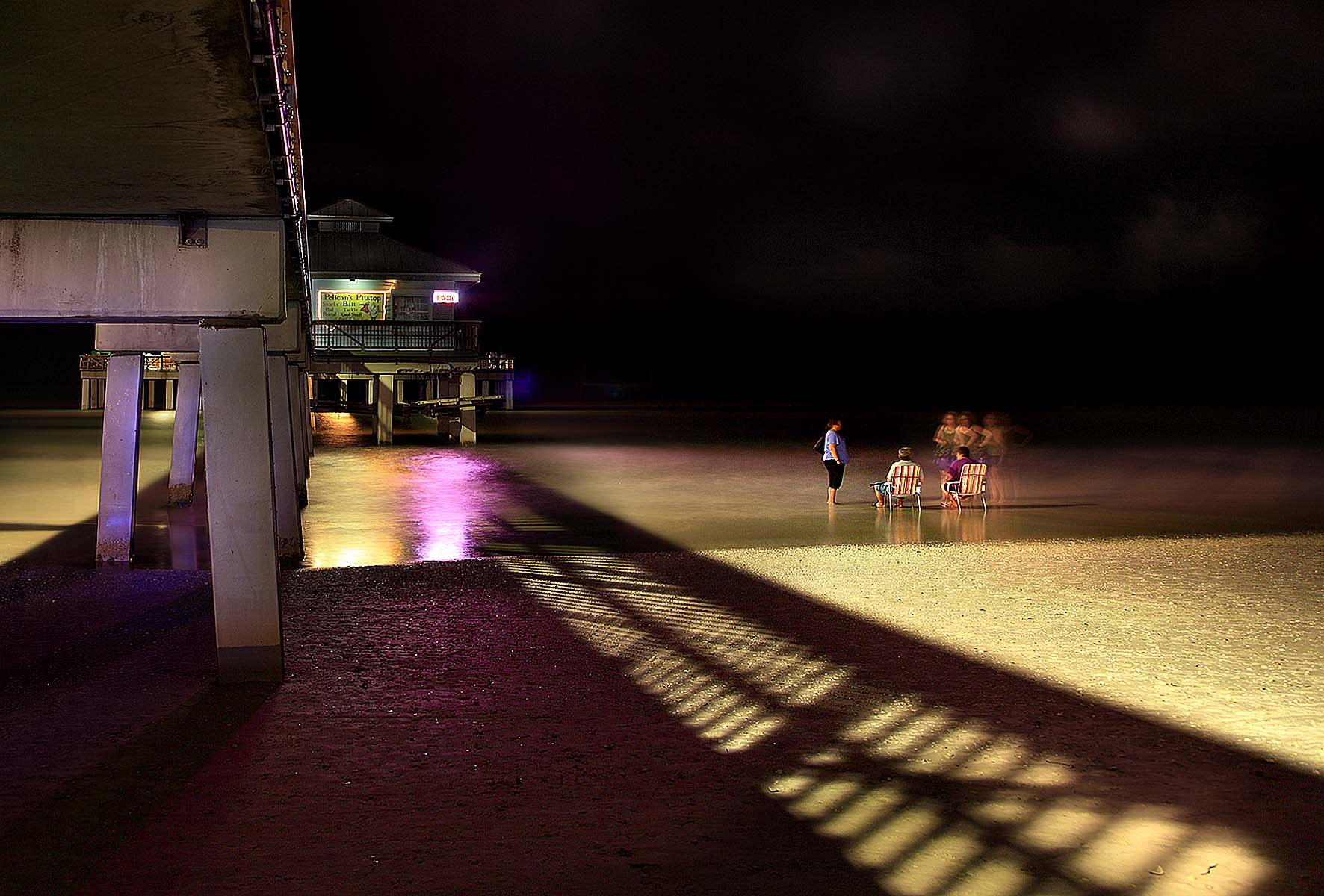 Conversation at the Pier