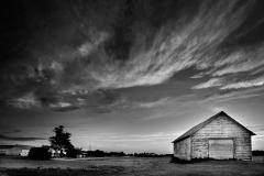 Sky and Barn